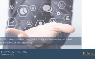 The Key SA et Efficience participent au séminaire organisé par Academy & Finance